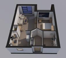 Flat A Floorplan