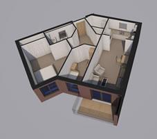 Flat F Floorplan